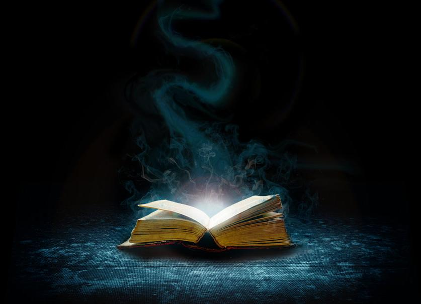 magic books magical fantasy spell bible writing coming god reading read open